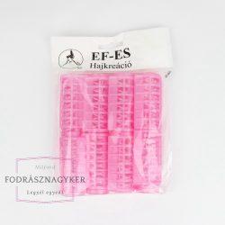 Ef-Es pattintós hajcsavaró 25mm 8db/csomag