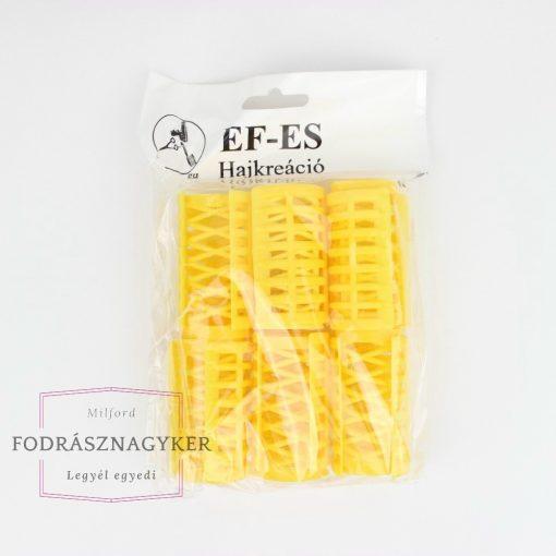 Ef-Es pattintós hajcsavaró 30mm 6db/csomag