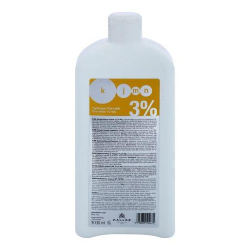 Kallos KJMN oxi 3% 1000ml