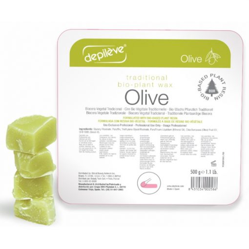 Depiléve BIO hagyományos gyanta oliva olajos 1 kg