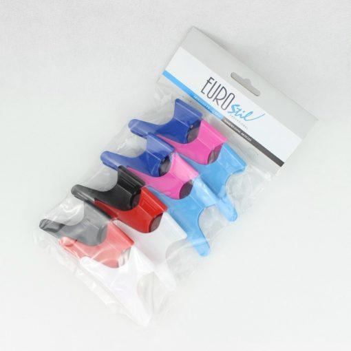 Eurostil 00084 pillangó csatt színes 12db/csomag