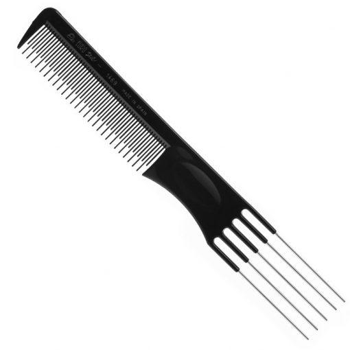 Eurostil 01469 fésű fémvégű ritka fogú