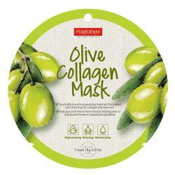 PureDerm Olive collagen maszk PD809