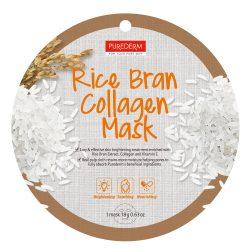 PureDerm Rice Bran collagen maszk PD811