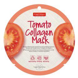 PureDerm Tomato collagen maszk PD812