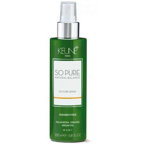 Keune So Pure Texture Spray 200ml Hajtógáz nélküli hajlakk