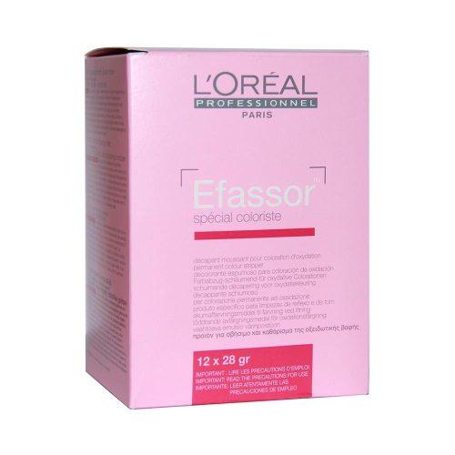 Loréal Efassor - festett hajszín eltávolító por 12*28g/dob.