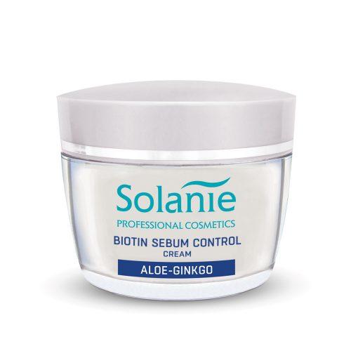 Solanie Biotin normalizáló és hidratáló krém 50ml