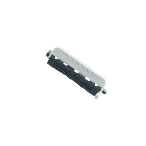 Dauercsavaró: rövid (szürke-fekete) 12db/csomag