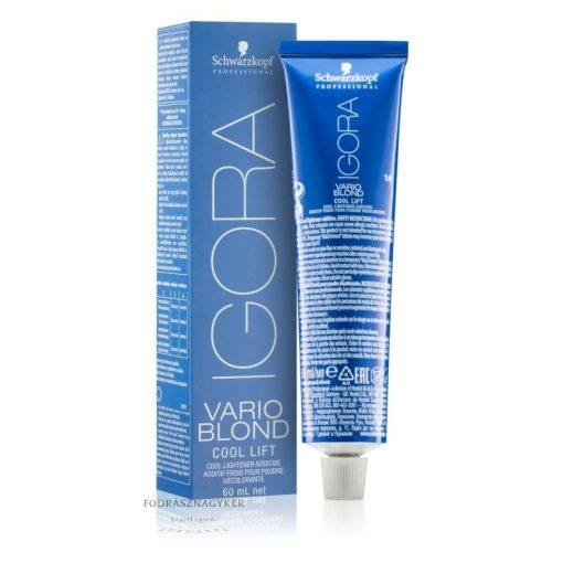 Igora Vario Blond Cool lift szőkítő Hideg adalék 60ml
